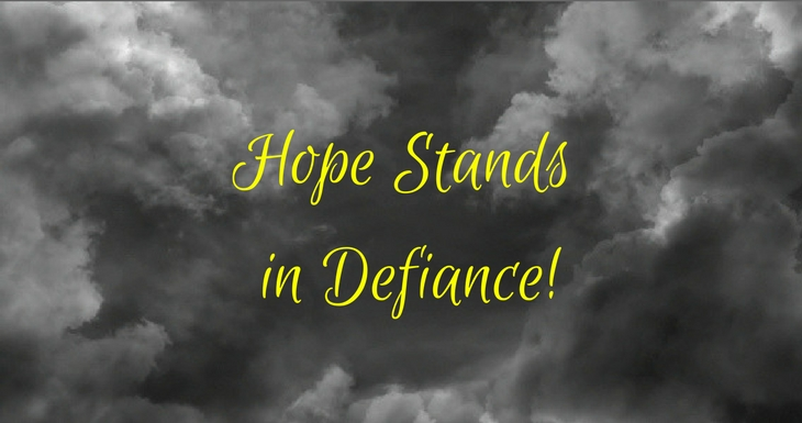 Hope Stands in Defiance